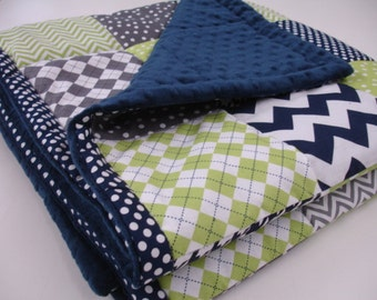 ADD A BORDER to Your Made to Order Blanket From My Shop