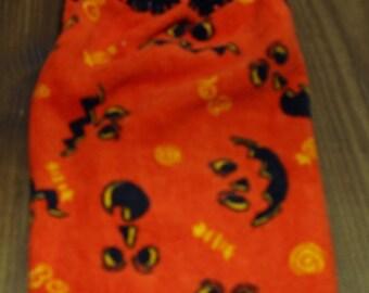 Halloween Eyes Crochet Top Hanging Kitchen or Bath Towel