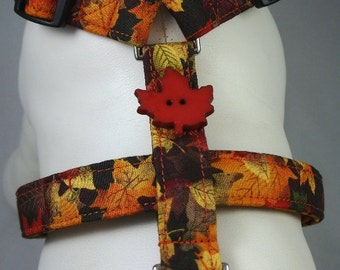 Dog Harness - Fall Foliage