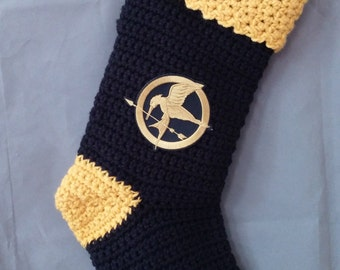 Personalized Hunger Games Christmas Stocking