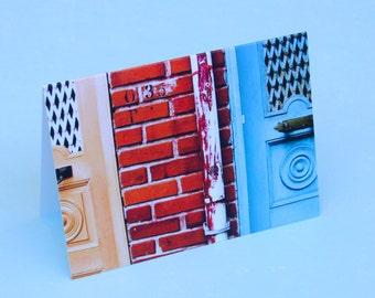 Next-door Neighbours Notecard