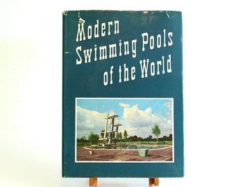 1958 Modern Swimming Pools of the World Deitrich Fabian - Mid Century Landscape Architecture