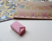 Bunting - Hand Carved Rubber Stamp