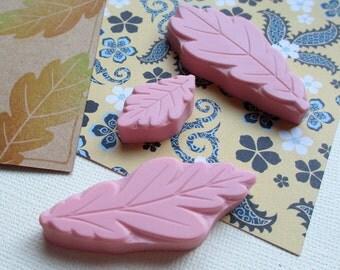 Oak Leaf - Hand Carved Rubber Stamp