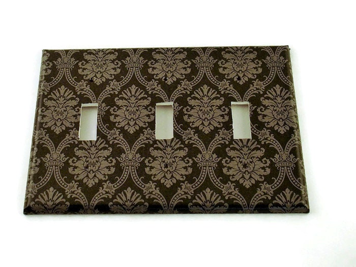 Decorative Wall Plate Switches : Triple switch plate wall decor decorative switchplate in