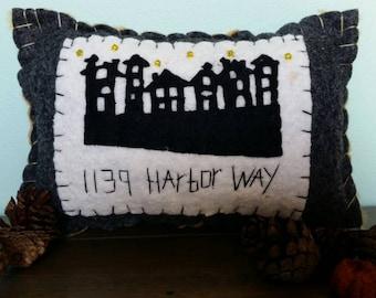 Customized Address Pillow