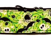 Halloween Bats and Spiders  Martingale Collar-