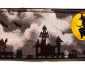 "Halloween Haunted Houses 2"" Martingale Collar-"