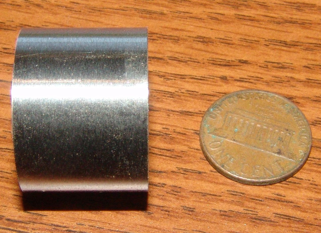 Stainless steel ferrules for tool handles inch diameter