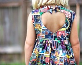 Custom Star Wars Sweetheart Dress - Size 2T-6