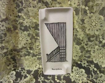 Vintage New Orleans Ceramic Ashtray