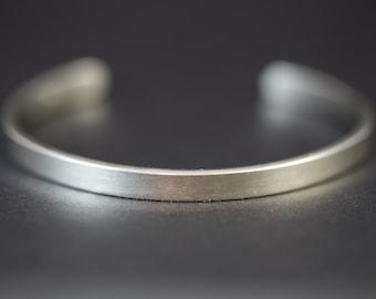 Silver Bangle, Men's Silver Bracelet, Cuff Bracelet, Silver Bracelet Women, Sterling Silver Bangle, Cuff Bracelet Silver, Silver Bracelet