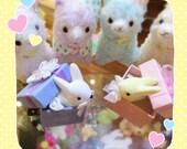 Present Box Bunny Hair Barrette