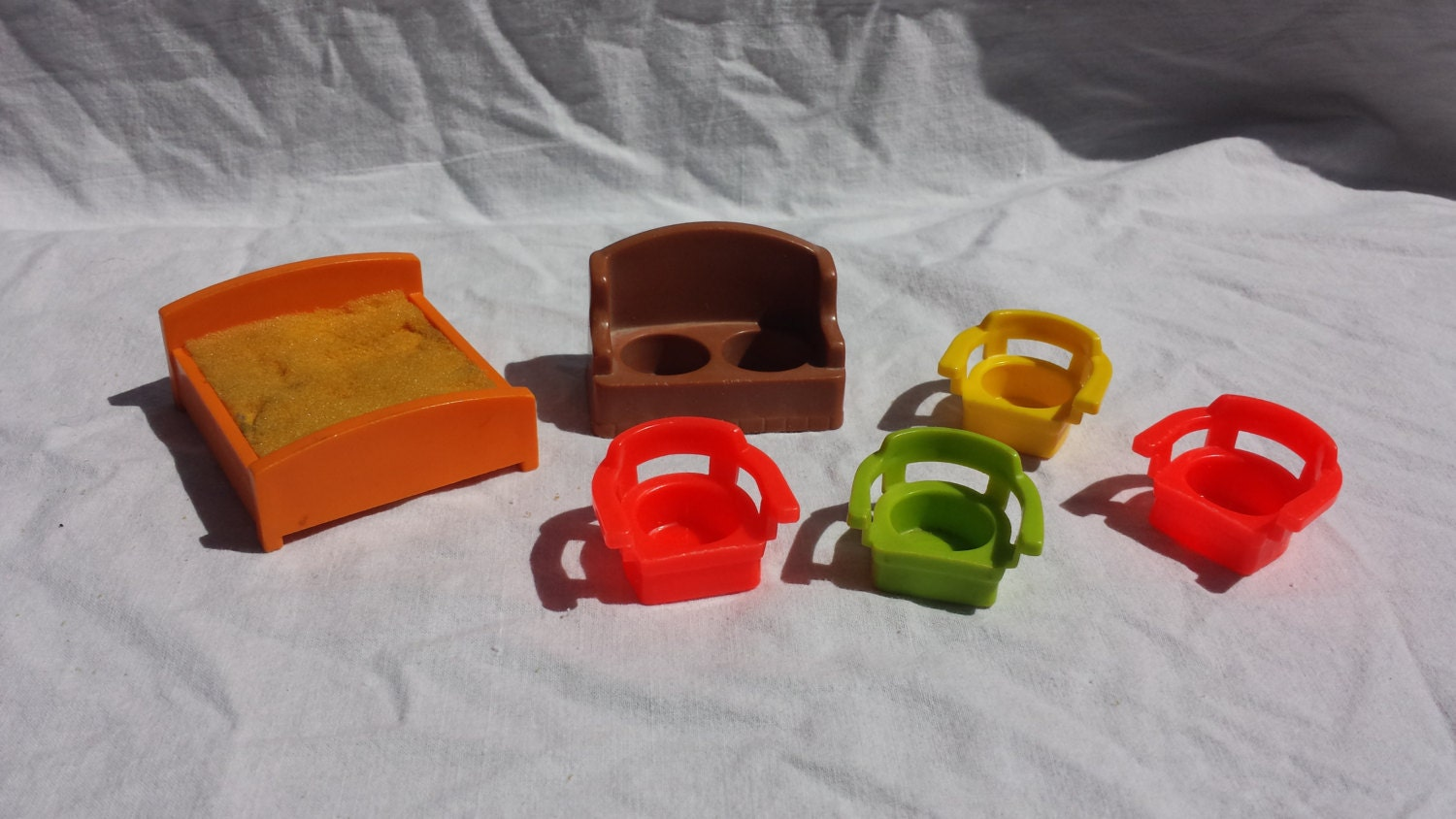 Fisher Price Little People Furniture Lot
