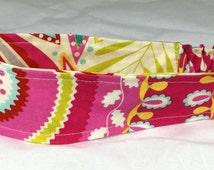 Girls Ready to Ship Fabric Headband Reversible Kumari Garden Childs Fabric Headband