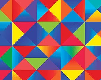 Color Palette Multi Art Class Benartex Fabric 1 yard