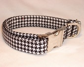 Houndstooth Collar by Swanky Pet