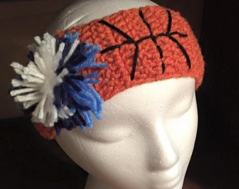 Basketball ear warmer headband