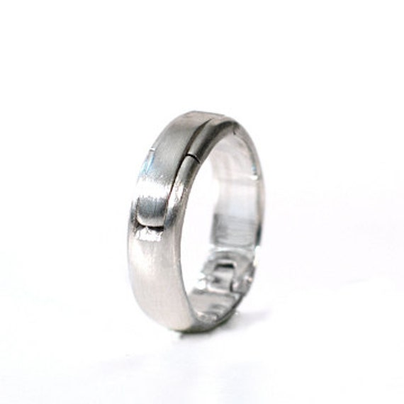 Sterling Silver Hinged Ring