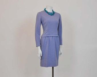 80s dress / Vintage 1980's Bill Blass Designer Dress