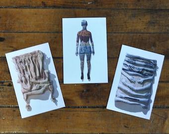 Postcards: Set of three