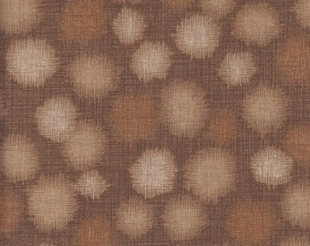 Kaufman Quilter's Linen Dots 13631 159 Beige Dots by the yard