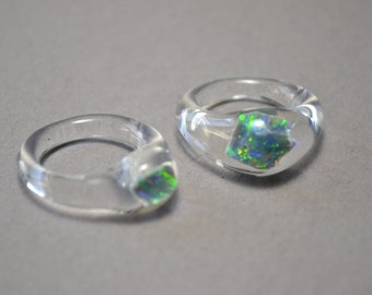 Opal Wedding or Engagement rings for Him or Her with payment plan