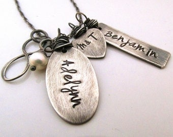 Personalized Jewelry - Infinate Love - Family Necklace - mother's necklace