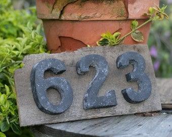 Urban/Rustic house numbers