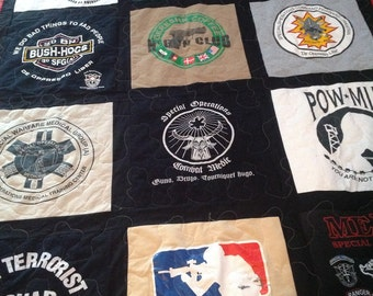 20 tshirt quilt 16 by 16 squares used