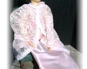 Boudoir Doll Nightgown in Pink Satin