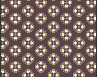 5.98 By the Yard A La Mode Chocolate, MO-3806, Yardage, Modernology, Pat Bravo, Art Gallery Fabric