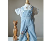 1970s Runaway Coveralls~Size 18 Months