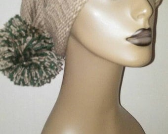 Knitted Hat, Slouchy Hat, Cap, Hat, Winter Hat, Knitted Adult Hat Size, Teenage Hat Size