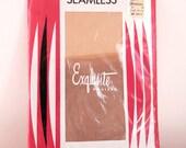 1960s Seamless Nylon Exquisite Stockings 9.5