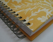 Pregnancy Journal with Yellow Large Floral Cover
