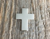 22 g Sterling Silver Cross Blank - For hand stamped jewelry