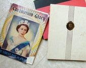 Coronation Glory Great Day in Pictures 1953 First Edition Pageant of British Queens