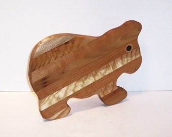 BEAR  Cutting Board  Handcrafted from Mixed Hardwoods