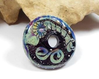 Quinlan Glass Gypsy Totem Handmade Lampwork Glass Beads
