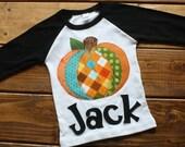 Pumpkin Shirt, Halloween Shirt, Pumpkin Shirt for Boys, Fall Festival, Personalized Halloween Shirt, Thanksgiving Shirt,Made to Order Shirt