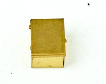 Brass Pillbox or trinket box