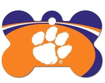 Clemson Tigers Tag Etsy