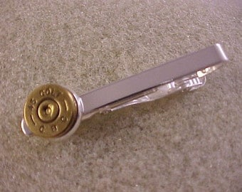 45 Colt Tie Clip Recycled Repurposed