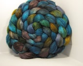 BFL/Bombyx 60/40 Roving Combed Top - 5oz - Sonoma Song 1
