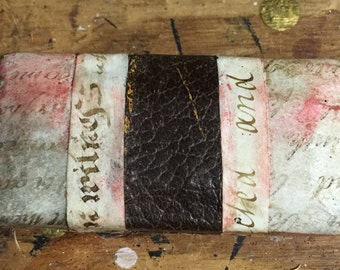 Antique Vintage Altered Jewery Ring Box