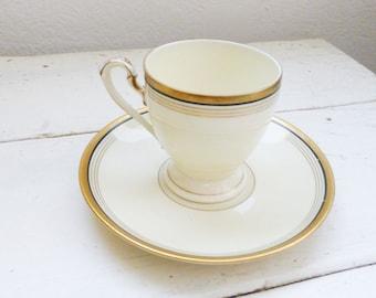 Eschenbach Bavaria Tea Cup, cute tea cup, china cup, small tea cup, fine china, gold rimmed, home decor, wedding gift, housewarming gift