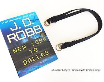 Custom Order - J D Robb Recycled Book Purse - Custom Order Book Cover Handbag
