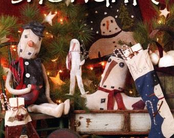 Snowdrift - Primitive Snowmen - Sale!