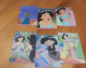 Up cycled Note Pads Party Favors Disney Aladdin Jasmine